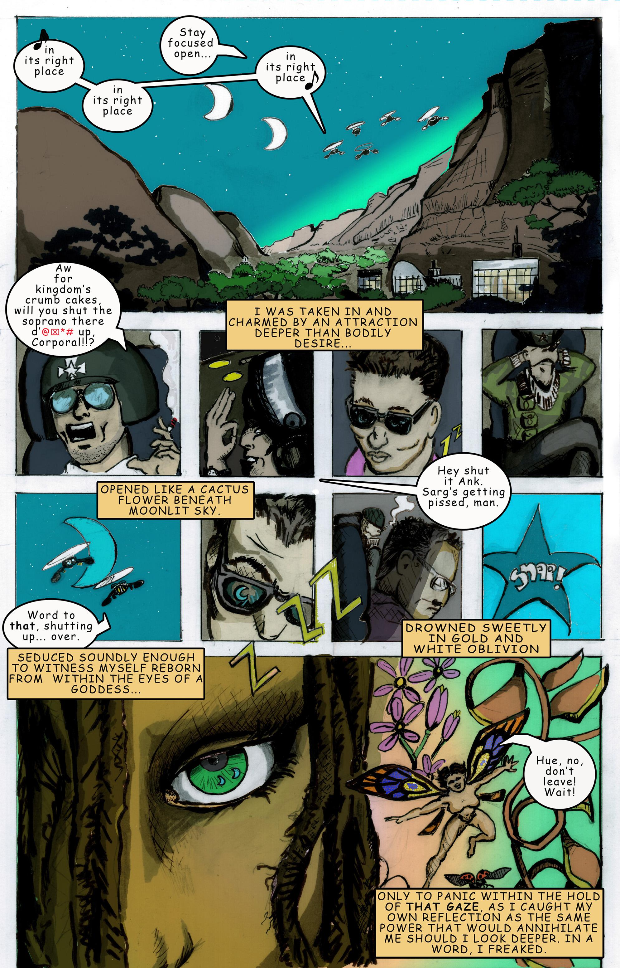The Anatomy Of The Dragon Page 17 Diamond Eyes
